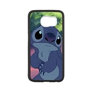 Samsung Galaxy S6 phone case Black Lilo And Stitch RRTY7497727