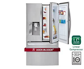 LG LFX32945ST 32.0 Cu. Ft. Stainless Steel French Door Refrigerator - Energy Star