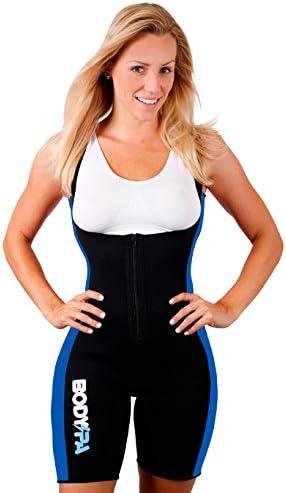 Blue, Small Sauna Suit Neoprene Gym Sport Aerobic Boxing Workout 13833