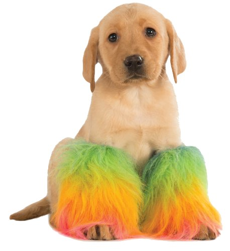Rubie's Costume 887702-S-M Co Pet Rainbow Fluffiest, Small/Medium