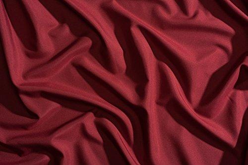 Night Sweats: The Original PeachSkinSheets 1500tc Soft STANDARD PILLOWCASE Set DEEP CRIMSON RED