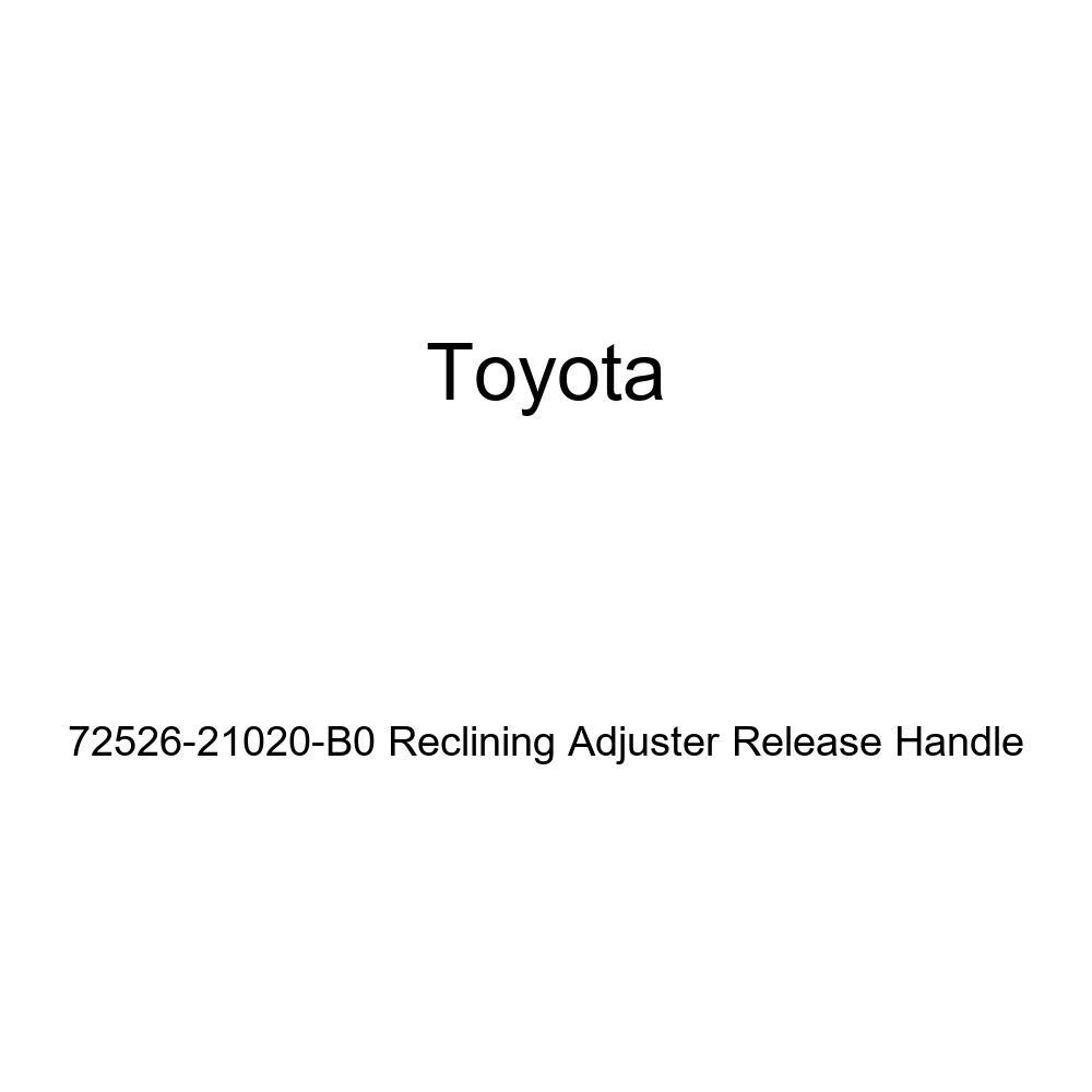 TOYOTA Genuine 72526-21020-B0 Reclining Adjuster Release Handle