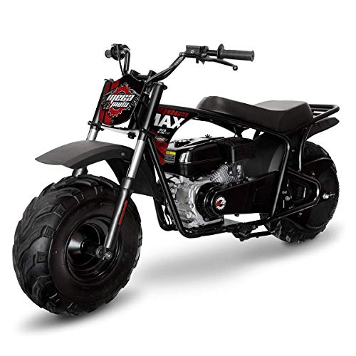 Mega Moto MM-B212-MXS (Black/Red) 212CC 7.5HP with Suspension Mini Bike