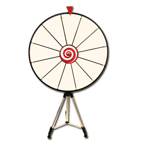 24 Inch Dry Erase Prize Wheel with Easel - Choose Type by Brybelly