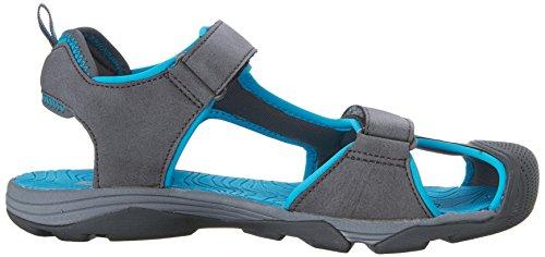 Teva C Toachi 4 - Sandalias deportivas Niños azul, gris (Dark Grey/Blue-t)