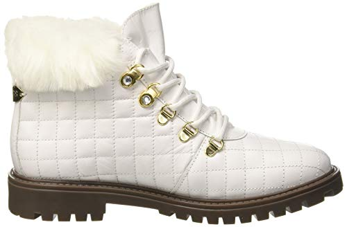 Para white Mujer Tammy Botas Guess White Altas Blanco qBtp88w