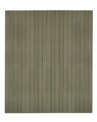 Composite Chairmat, No Lip Gray/Natural/41''W x 48''L by Anji Mountain