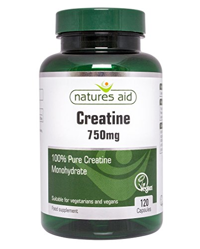 Natures Aid 750mg Creatine Tablets - Pack of 120