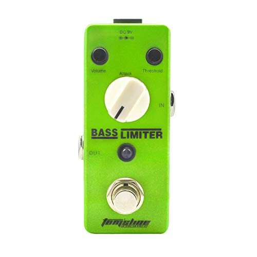 Tom'sline Bass Limiter Electric Bass Guitar Effect Pedal True Bypass