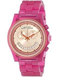 Womens MBM4575 Pink and Rose-Tone Watch