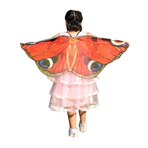 2017 Halloween Child Kids Boys Girls Bohemian Bat Print Shawl Cape Scarf Fairy Poncho Wrap Costume Accessory (118X48CM, A3) ()