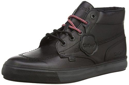 Kickers Tovni Hi Lthr Am - zapatillas altas de cuero hombre negro