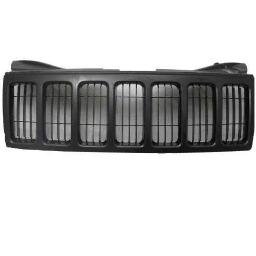 Jeep Cherokee 08-10 Front Grille Car Black W/Blk Frame w/o