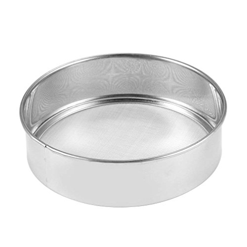 Stainless Steel Mesh Flour Sifting Sifter Sieve Strainer Cake Baking Kitchen by CHYIR