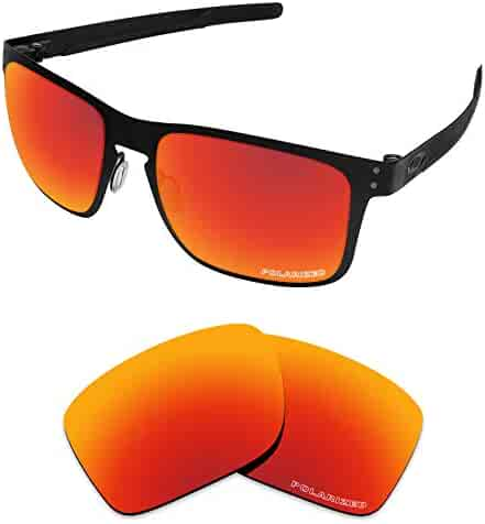 24a0a7781e82e Tintart Performance Lenses Compatible with Oakley Holbrook Metal Polarized  Etched