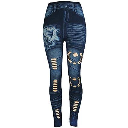Amazon.com: Pantalones vaqueros de cintura alta Excursion ...