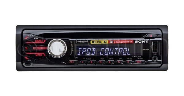 Sony Digital Media CD Receptor: Amazon.com.mx: Electrónicos on sony cdx-gt660up, sony head unit, sony cdx-gt56uiw, sony stereo receiver sirius, sony siriusxm satellite radio, sony cdx gt57up,