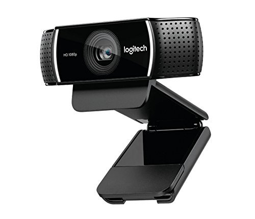 Logitech C922 Pro Stream Webcam 1080P Camera for HD Video Streaming & Recording 960-001087(Certified Refurbished)