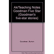Ak/Teaching Notes Goodman Five Star