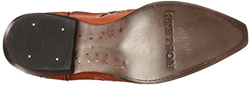 Stetson Women's Amber Western Boot Burnished Sorrel PypbjgU12