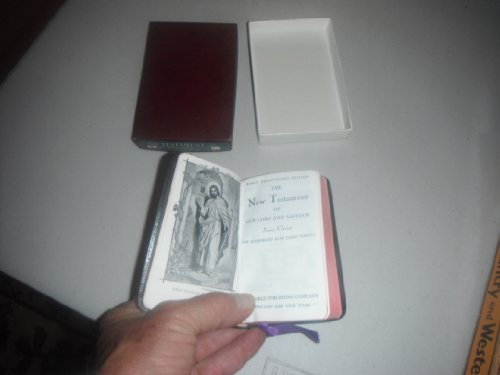 World Pronouncing Edition New Testament Kjv-pocket Edition Genuine Morocco with Orig. Box (Orig Box)