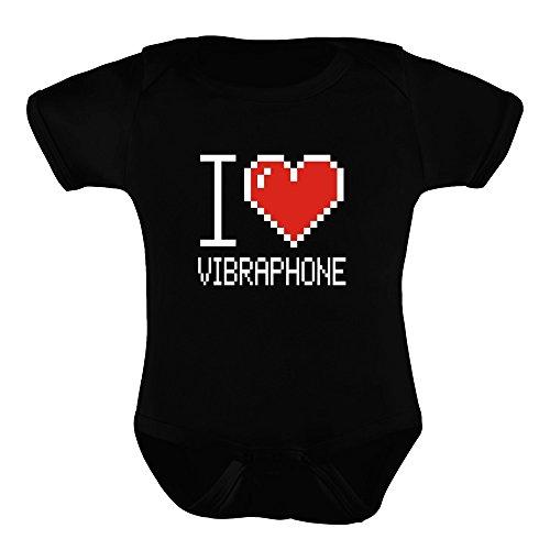 775414bc08af1 Idakoos I love Vibraphone pixelated - Instruments de Musique - Barboteuse