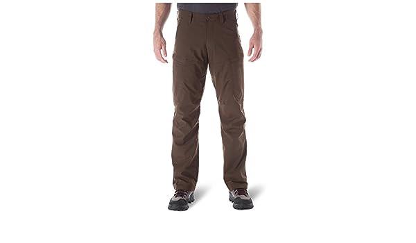 5.11 Tactical Series Apex Pantalón para Hombre, Burnt, FR: M ...