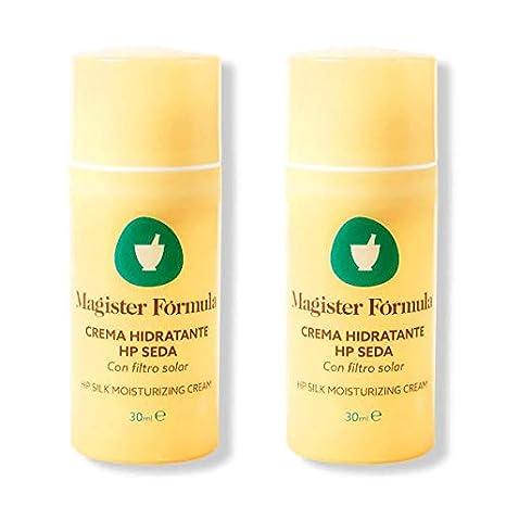 Oferta DUPLO Crema Hidratante Facial HP Seda 30ml | Extracto Seda Natural | Piel Seca,