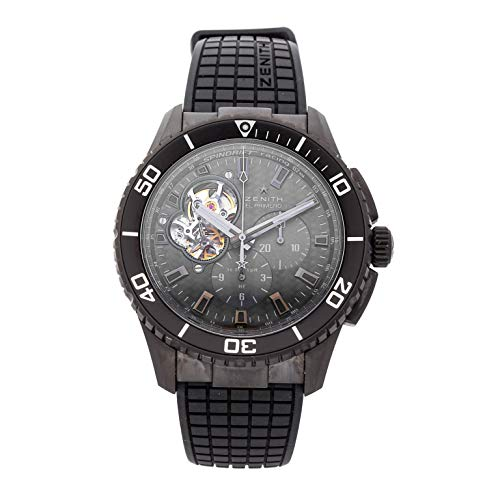 Zenith El Primero Mechanical (Automatic) Grey/Charcoal Dial Mens Watch 75.2060.4061/21.R573 (Certified Pre-Owned)