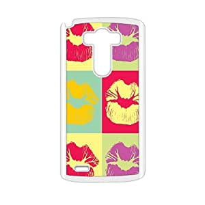 G3 Case, LG Optimus G3 Case - Handmade Painting attracting sexy lips Case Hard Cover for LG Optimus G3