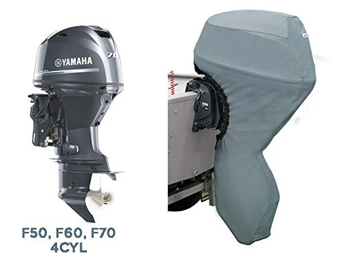 Oceansouth Custom Fit Full Outboard Storage Cover for Yamaha 4 CYL 50-70HP 20