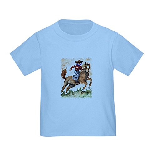 CafePress Cowboy Toddler T Shirt Cotton