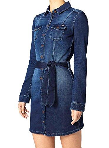 Pepe Jeans Nicole, Vestido para Mujer Azul