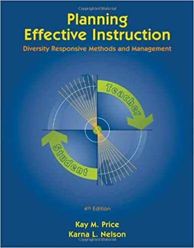 Planning effective instruction by price 4th edition 9780495809494.