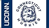 JTD Enterprises NCAA Connecticut Huskies Flag, 3 x 5', Blue