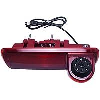 FEELDO Car 6LED IR Brake Light Rear View Reversing/Parking Camera For Opel Vivaro/Renault Trafic 2014