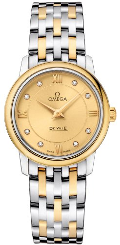 Omega De Ville Prestige Quartz 27.4mm Women's Watch 424.2...