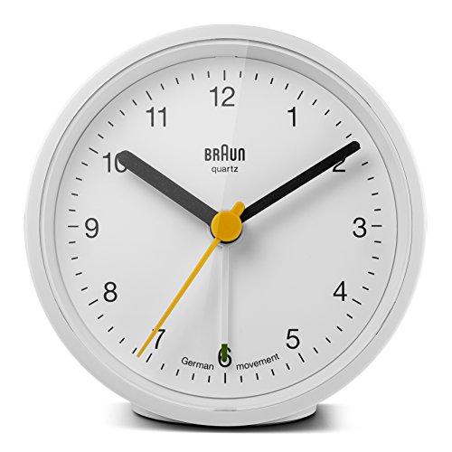 Braun BNC012WHWH Classic Alarm Quartz product image