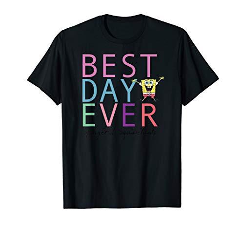 Spongebob Squarepants Best Day Ever  T-Shirt (Spongebob Best Day Ever 420)