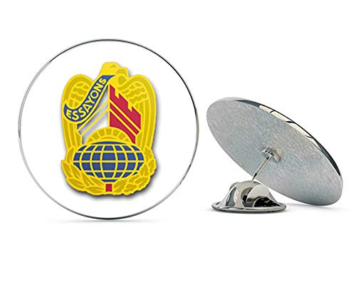 Corps Unit Army Crest Us - Veteran Pins US Army Corps of Engineers Command Unit Crest - Right Metal 0.75
