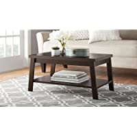 Mainstays Logan Coffee Table - Espresso
