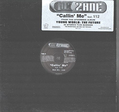 "Price comparison product image Lil' Zane feat. 112: Callin' me 12"" VG++/NM USA Priority SPRO 51356"