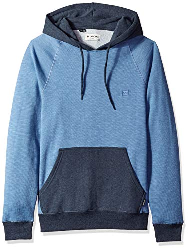 - Billabong Men's Balance Pullover Hoodie Baja Blue Medium