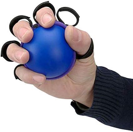 Sendgo 1pcs Five Fingers Hand Grip Ball Muscle Power Training Exercise Fitness Equipment