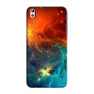 Cover It Up - Blue Vs Red space Cloud Desire 816 Hard case