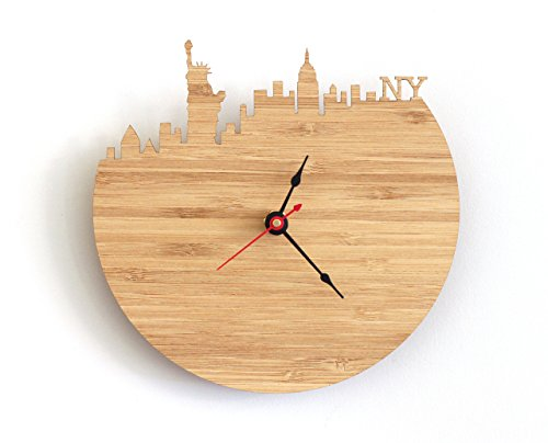 New York Skyline Clock