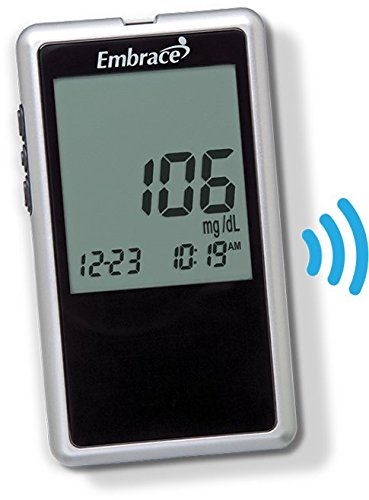 Embrace¨ Talking Blood Glucose Meter