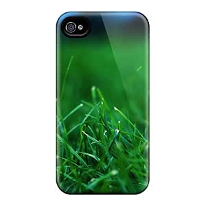 Durable Fresh Grass Close Up Back Cases/covers For Iphone 6