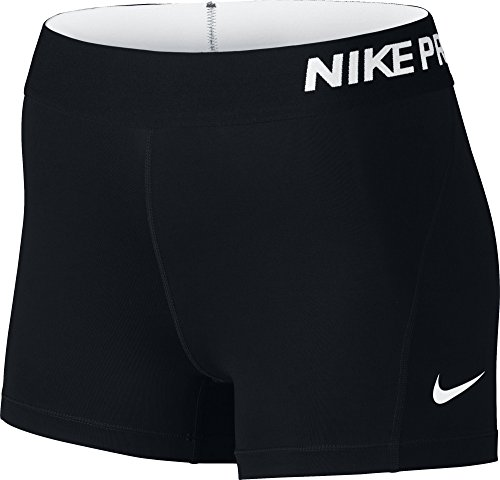 nike-womens-pro-cool-3-inch-compression-shorts-black-white-x-small
