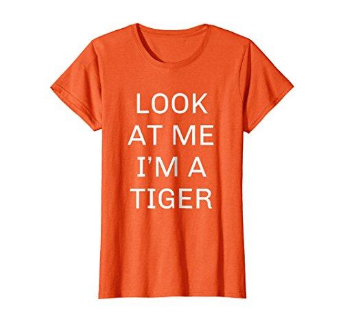 Womens Funny Animal Halloween Costume Shirt Fun Gift Idea XL Orange for $<!--$19.99-->